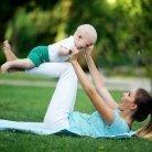 So wird ihr Kind dank Babyyoga ganz entspannt