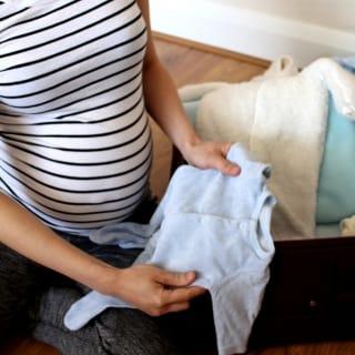 Spitaltasche für die Geburt packen