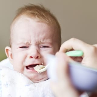 Wenn Babys den Brei verweigern