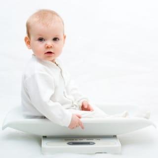 Entwicklung von Grösse und Gewicht bei Kleinkindern
