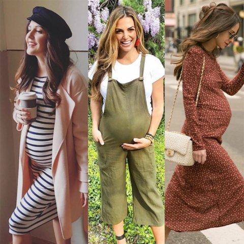 Coole Schwangerschaftsmode