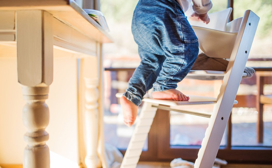 Mehr als die Hälfte der Kinderhochstühle ist mangelhaft