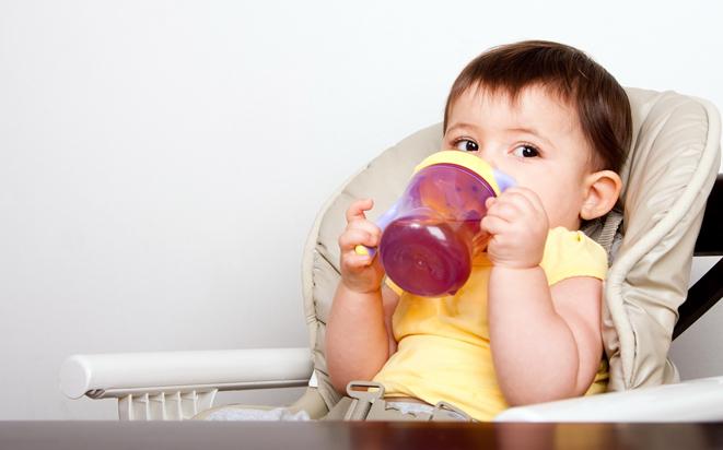 Folgende Getränke fürs Baby werden empfohlen.
