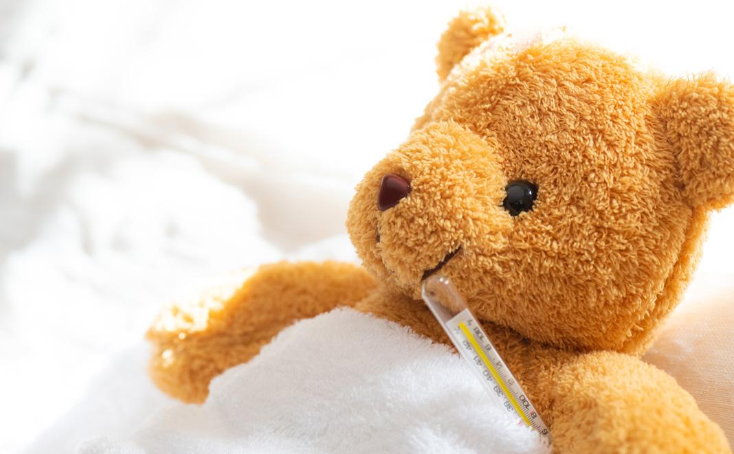Häufige Kinderkrankheiten