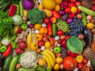 Obst und Gemüse ist auch in der Stillzeit ein wichtiges Nahrungsmittel.