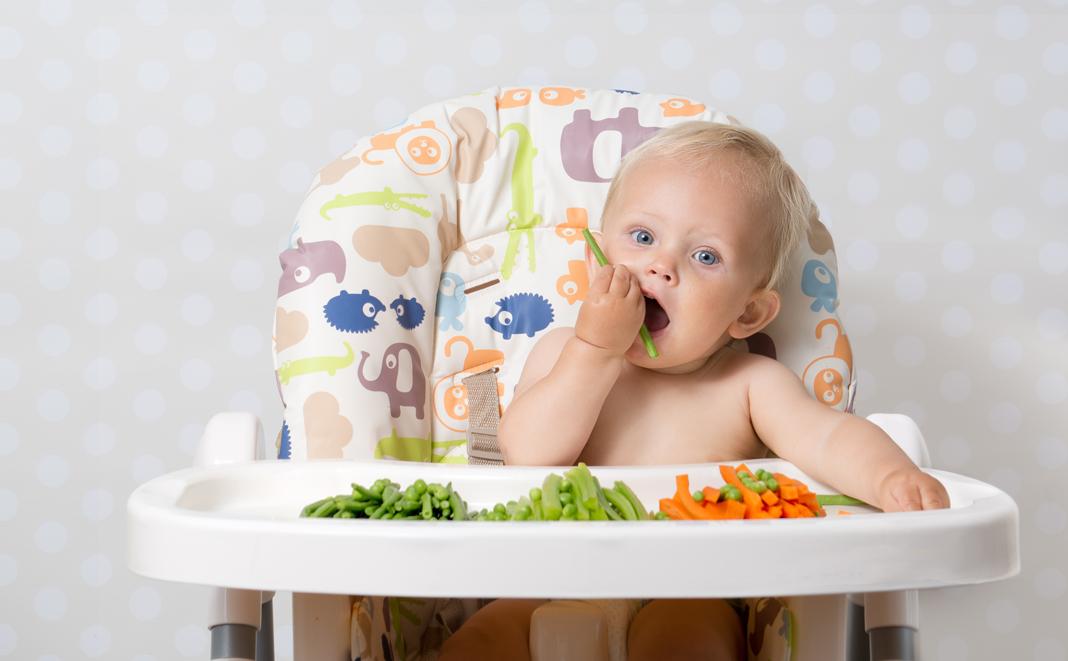 Babys vegetarisch oder vegan ernähren