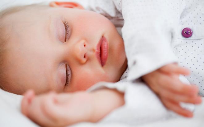 So funktioniert die Atmung des Babys.