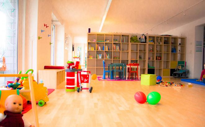 In der kinderfreundlichen Familienoase finden Sie Betreuung, Spiel- und Kursangebote