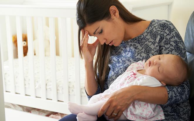 Was Sie bei Depression nach Geburt machen können.