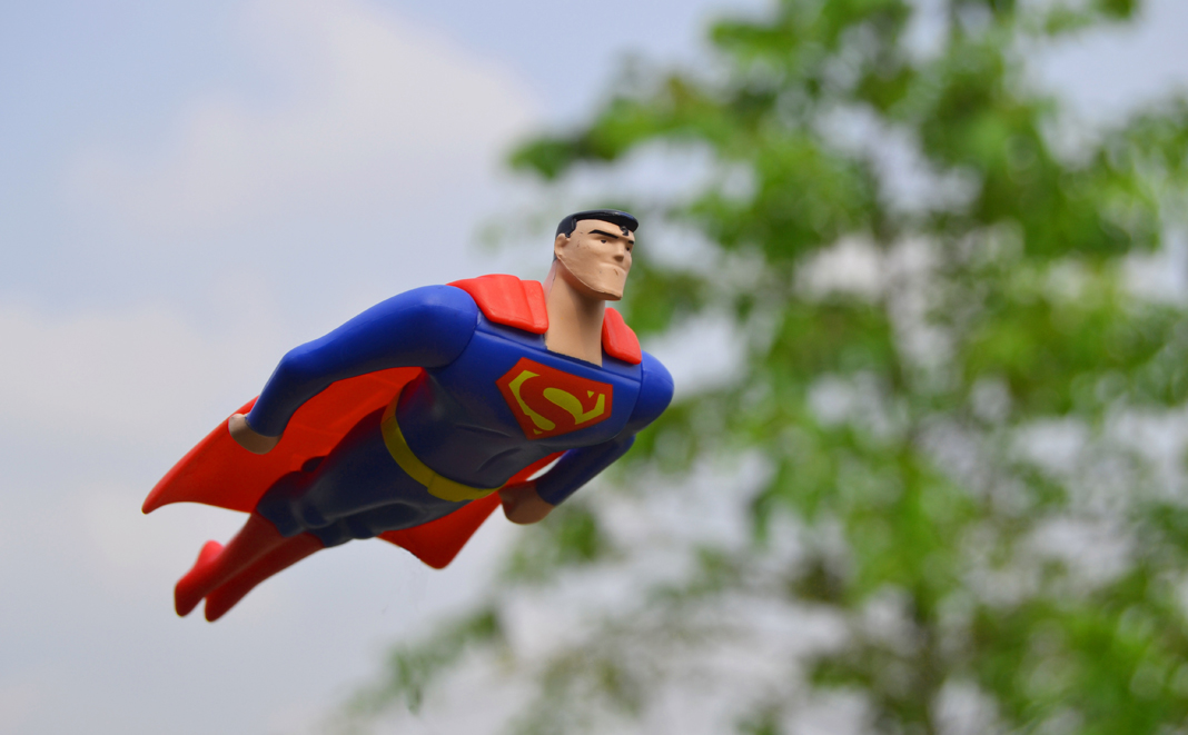 Superhelden: Arbeitende Väter und Mütter