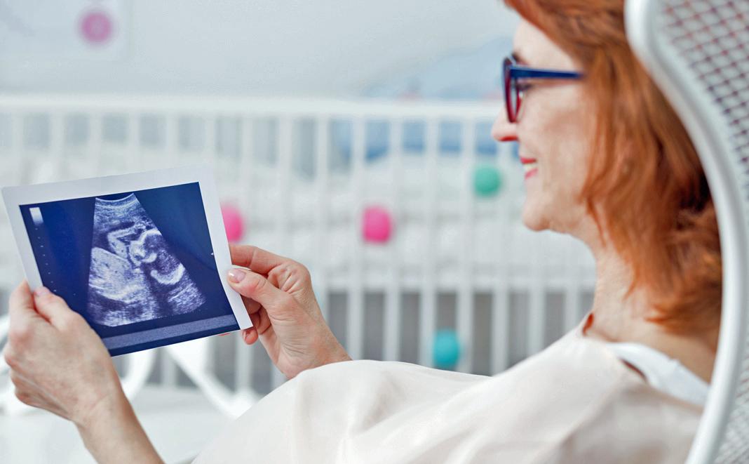 Schwanger mit 40 - Vorsorgeuntersuchungen sind wichtig