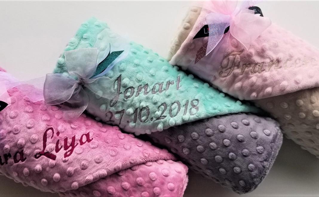 Wettbewerb: Drei handgenähte Babydecken zu gewinnen